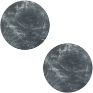 Cabochons DQ leer 20mm Antracita black