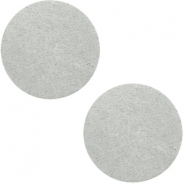 Cabochons DQ leer 20mm Light grey