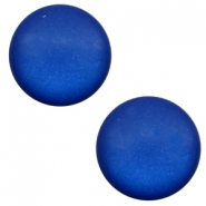 12 mm classic Super Polaris cabochon matt Cobalt blue