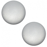 12 mm classic Super Polaris cabochon matt Pewter grey