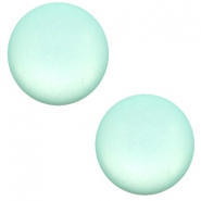 20 mm classic Super Polaris cabochon matt Anise green