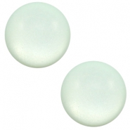 20 mm classic Super Polaris cabochon matt Gossamer green