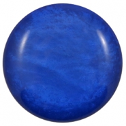 Polaris Elements classic cabochons in 35 mm Mosso shiny Cobalt blue