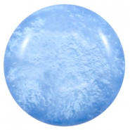 Polaris Elements classic cabochons in 35 mm Mosso shiny River blue