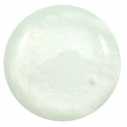 Polaris Elements classic cabochons in 35 mm Mosso shiny Pastel azore green