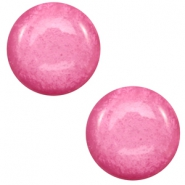 7 mm classic Polaris Elements cabochon Mosso shiny Peonia pink