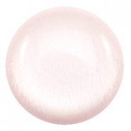 Polaris Elements classic cabochons in 35 mm soft tone shiny Soft light rose
