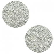 12 mm platte Polaris Elements cabochons Goldstein Pewter grey