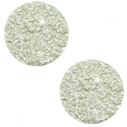 12 mm platte Polaris Elements cabochons Goldstein Relaxing Green