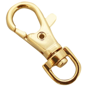 DQ sleutelhangers 38 mm Gold plated