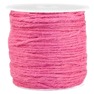Jute trendy koord 2.0mm Roze