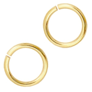 Buigringen DQ 10 mm DQ Gold plated duurzame plating
